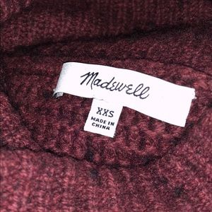 Madewell Sweaters - Madewell Side Button Turtleneck Sweater